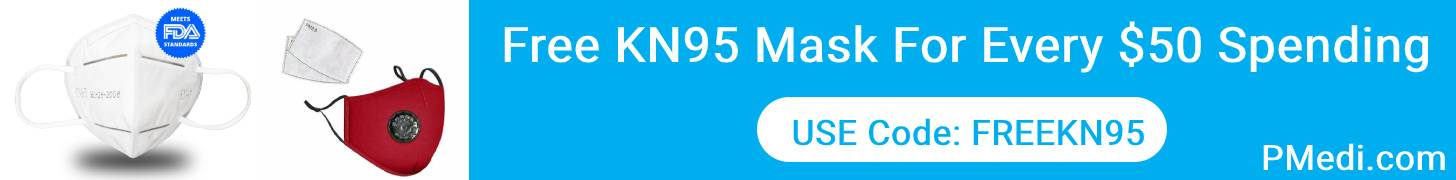Free KN95 Mask For Every $50 Spending. Use Code: FREEKN95