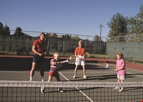 Cross Court Tennis & Swim