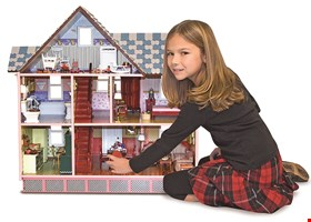 Lynlott Miniatures Dollhouse and Toys
