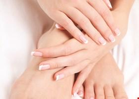 Pink Kiwi Nails