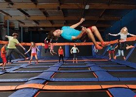 Sky Zone Boston Heights
